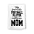 My Favorite Football Player Calls Me Mom, Funny Kitchen Towels, Sports Themed Cotton Flour Sack Highly Absorbent Multi-Purpose Hand and Dish Towel, Kitchen Gifts for Mom