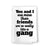 You and I are More Than Just Friends, Funny Kitchen Towels, Flour Sack 100% Cotton, Highly Absorbent Multi-Purpose Hand and Dish Towel