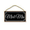 Mr. and Mrs. Newlywed Just Married 5 x 10 inch Hanging, Wall Art, Decorative Wood Sign Home Decor, Wedding Gifts