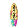 Surf Shop Wooden Surfboard Signs, 5 inch by 16 inch, Wooden Hanging Sign, Decorative Wall Art, Home Party Summer Decor