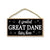 A Spoiled Great Dane Lives Here, Funny Home Decor for Dog Pet Lovers, Hanging Decorative Wall Sign, 5 Inches by 10 Inches