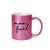 Mom Fuel Inappropriate 11 oz Metallic Pink Novelty Funny Coffee Mug