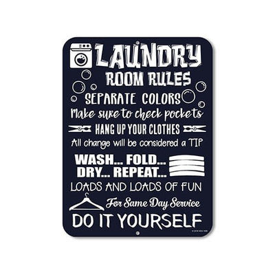 Funny Laundry Signs
