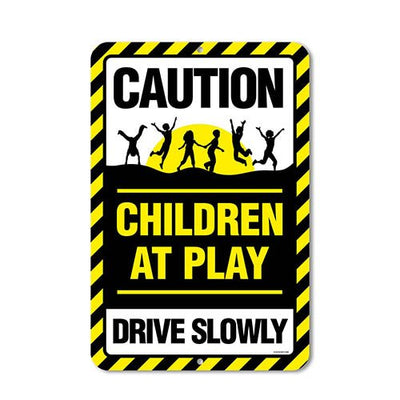 Driveway Safety Sign