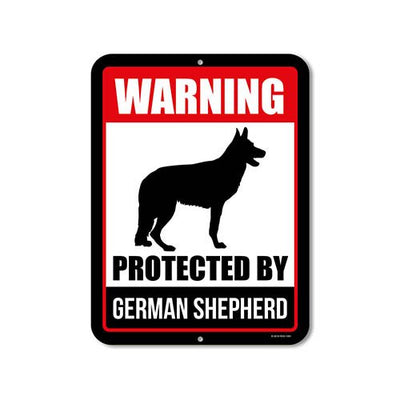 German Shepherd Signage