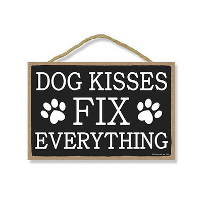 Funny Wooden Dog Signs