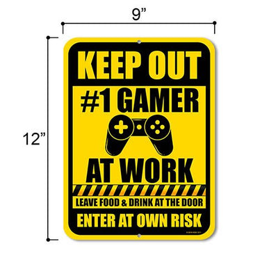 Funny Gamer Signs