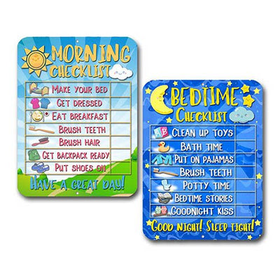 Daily Morning and Bedtime Routine Reward Chart