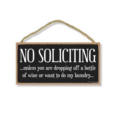 No Soliciting Sign for House