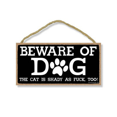Funny Pet Door Signs