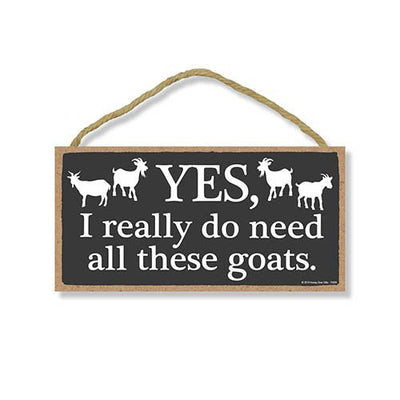 Funny Goat Signs