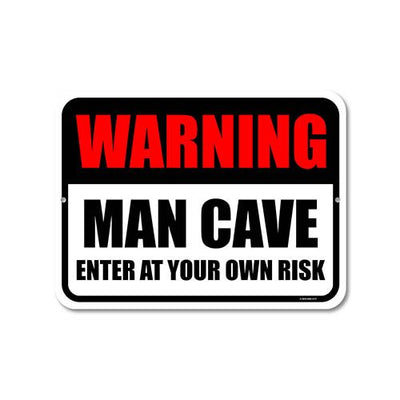 Man Cave Signs & Hanging Decor