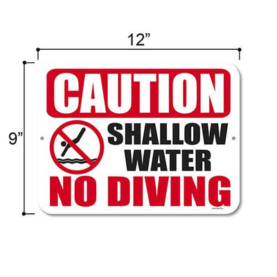 Swimming Pool Outdoor Signs