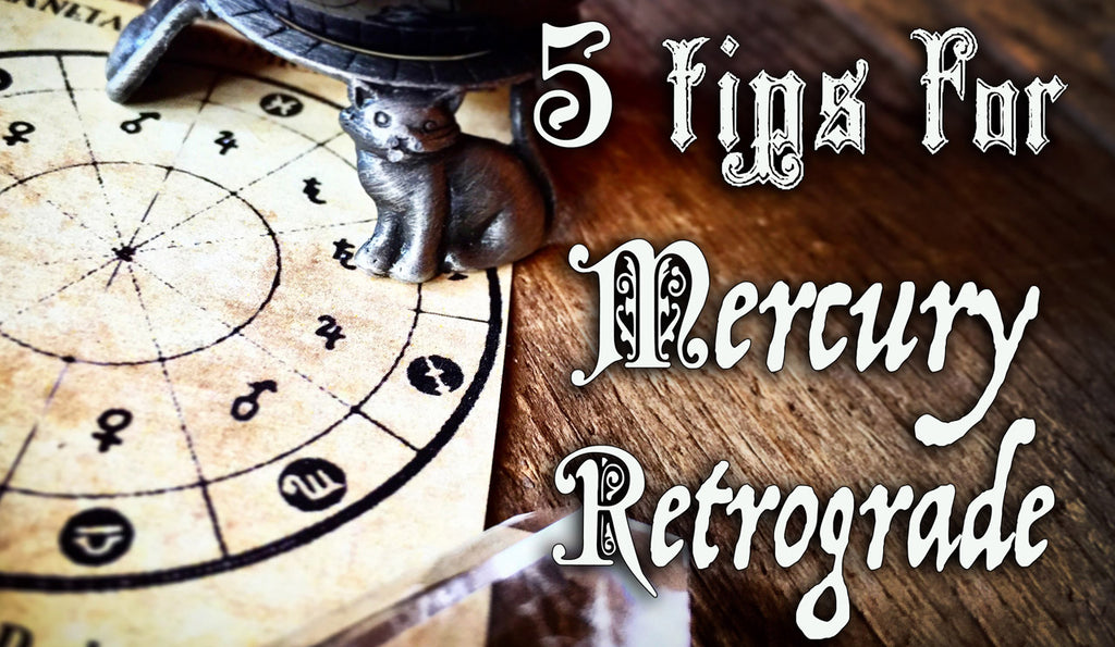 5 Tips for Surviving the Mercury Retrograde