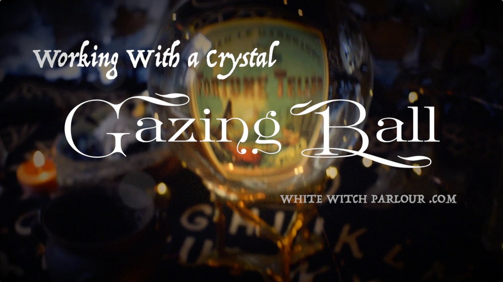 Working with a Crystal Gazing Ball