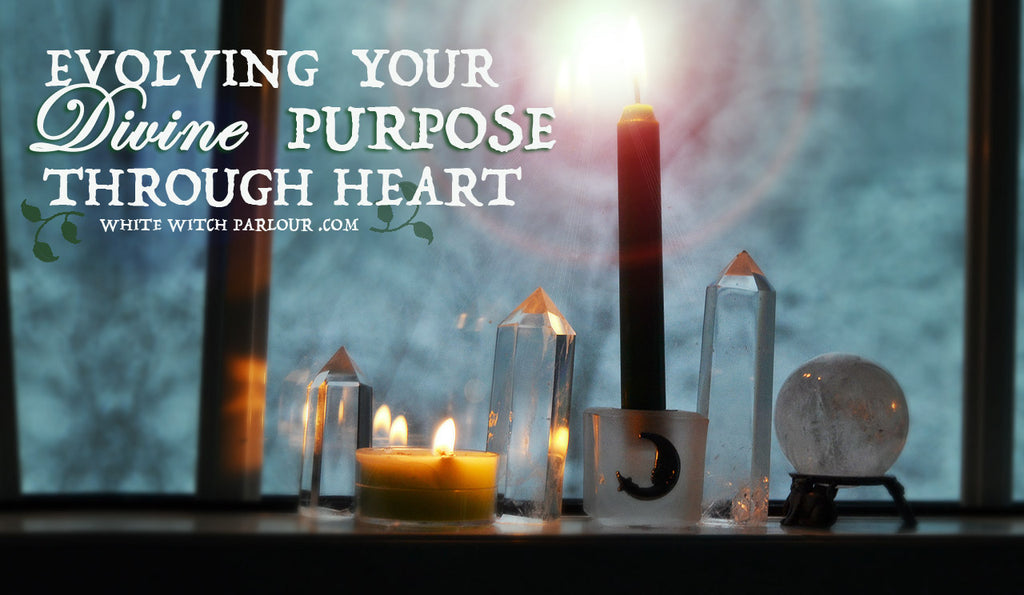 Evolving Your Divine Purpose Through Heart