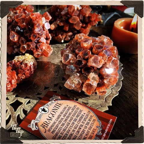 ARAGONITE CRYSTAL. For Earth Healing, Stability & Soul Focus.