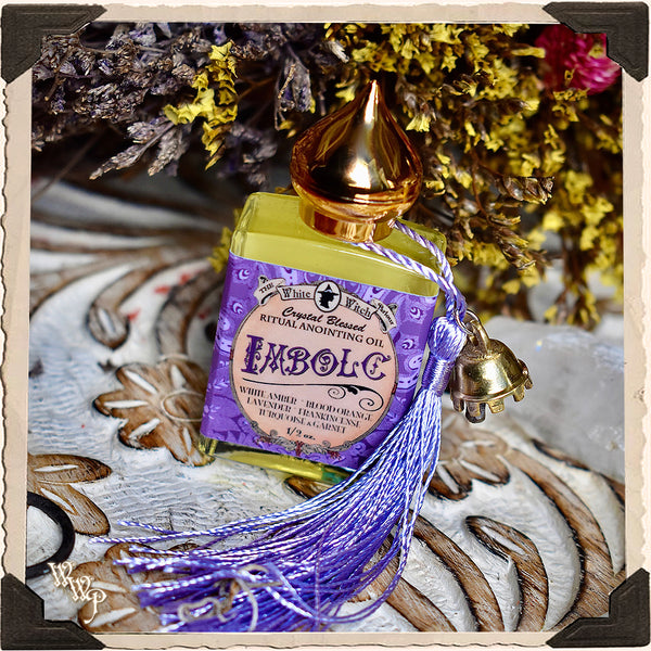 IMBOLC 1/2oz. Alchemy RITUAL OIL. For Mid-Winter, Renewed Energy & Beginnings.