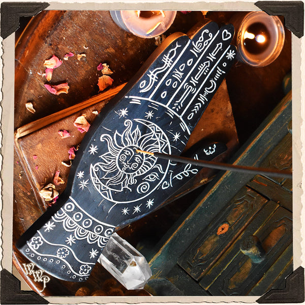 BOHEMIAN HAND DECOR Incense Stick & Cone Burner