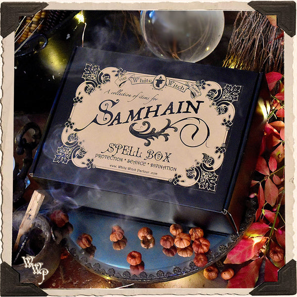PREORDER: SAMHAIN SPELL BOX. A Scrying Kit For Divination, Protection & Seance
