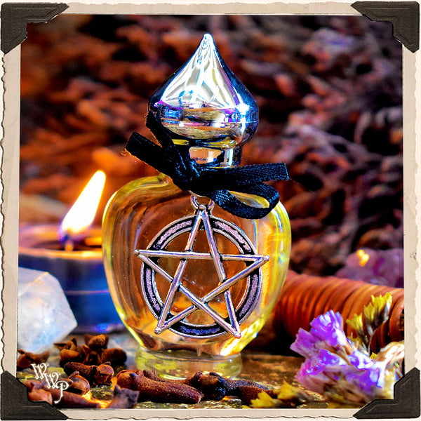 WITCH CRAFT All Natural Alchemy Oil Potion 1/3oz. For Psychic Protection, Empowerment & Spiritual Advancement.