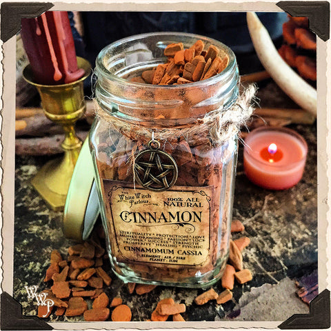 CINNAMON CHIPS APOTHECARY. Dried Herbs. For Prosperity, Money Drawing & Strength.