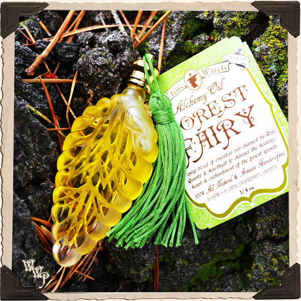 FOREST FAIRY 1/4oz. Alchemy Oil All Natural. For Nature Connections & Spiritual Growth.