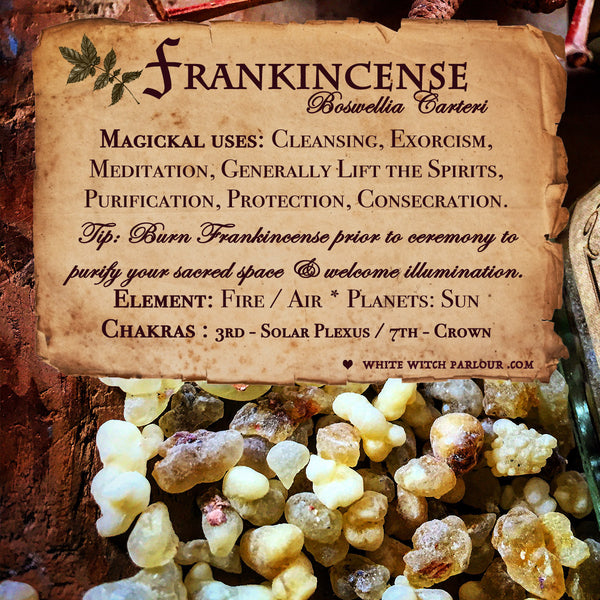 FRANKINCENSE RESIN APOTHECARY. All Natural Incense. For Illumination, Consecration & Meditation.