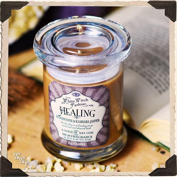 HEALING Elixir Apothecary CANDLE 7oz. For Emotional Balance & Energetic Healing