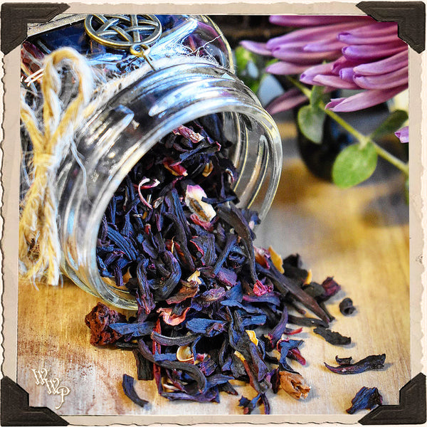 HIBISCUS FLOWER APOTHECARY. Dried Herbs. For Love, Passion & Freedom.