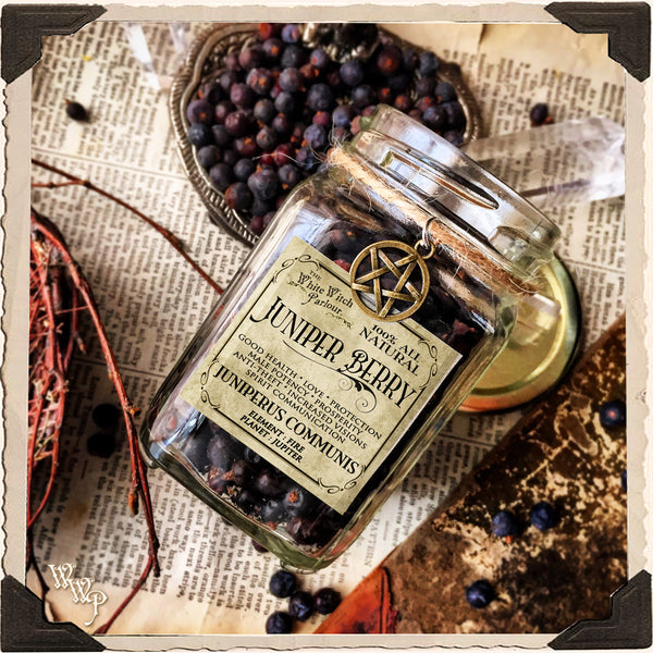 JUNIPER BERRY APOTHECARY  Dried Herbs  For Good Health, Protection & Spirit  Communication