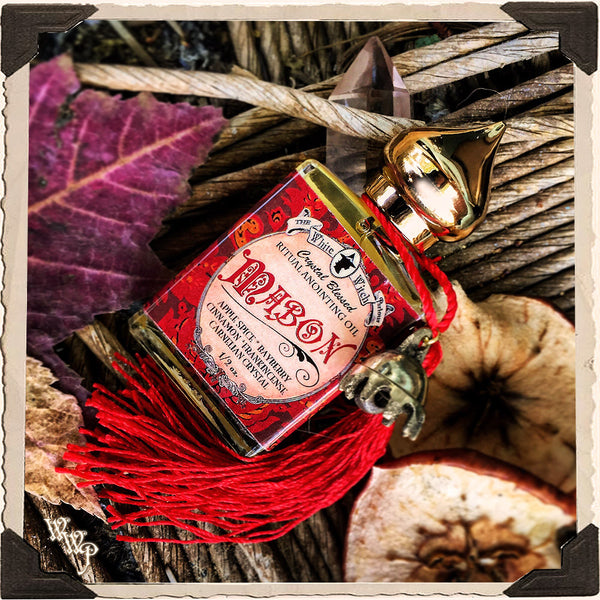 MABON Alchemy RITUAL OIL. Autumn Equinox. For Thanksgiving, Harvest & Prosperity.