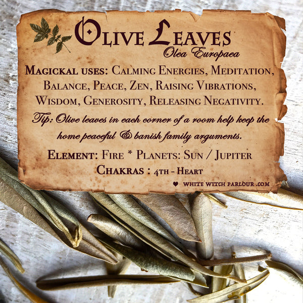 OLIVE LEAVES APOTHECARY. Dried Herbs. For Peace, Healing & Balance.