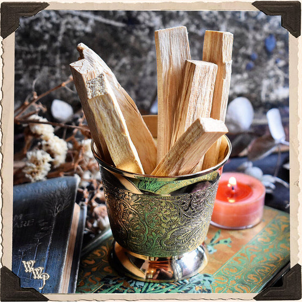 PALO SANTO SMUDGE WANDS: 7 Pack For Spiritual Cleansing, Healing, Enlightenment.