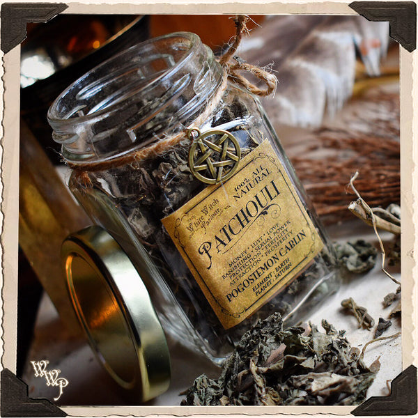 PATCHOULI APOTHECARY  Dried Herbs  For Money, Prosperity, Lust &  Manifestation