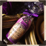 PURPLE RITUAL SALT. Third Eye. Blessed with Amethyst & Lavender on a Full Moon