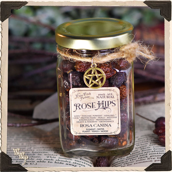 ROSE HIPS APOTHECARY. Dried Herbs. For Love, Friendships & Psychic Powers.