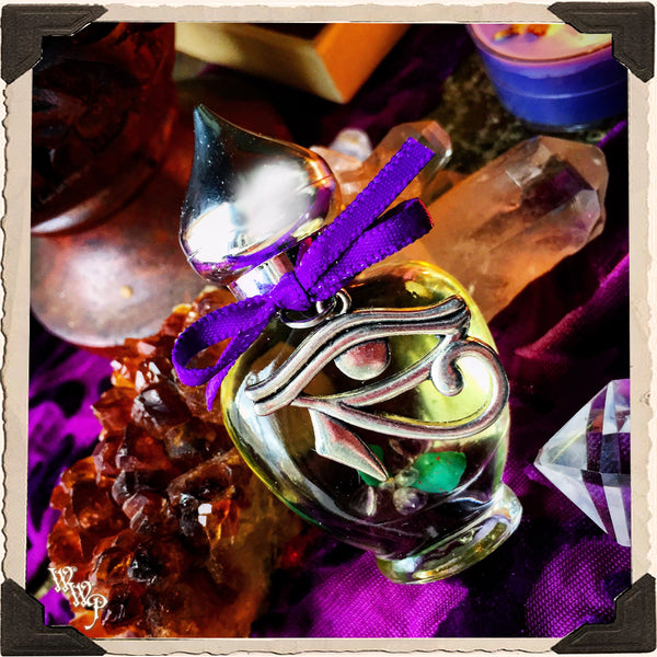SACRED SPIRIT All Natural Alchemy Oil Potion 1/3oz. For Intuitive Guidance & Connection to Spirit.