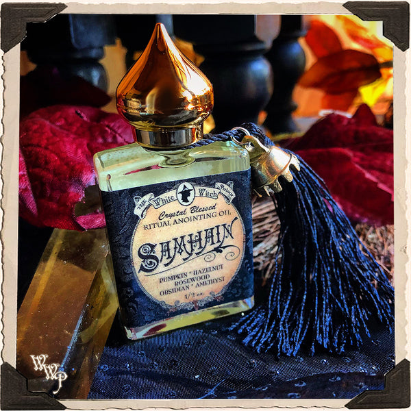 SAMHAIN Alchemy RITUAL OIL. For Halloween, Autumn, Sabbat & Ceremony.