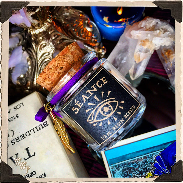 SEANCE INCENSE. All Natural Resin Blend. For Spirit Contact, Ancestor Communication & Psychic Growth.