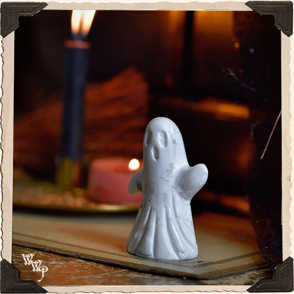 SPECTER CRYSTAL GHOST. Assorted. Crystal Totem For Energy Awareness, Spirit Contact & Samhain.