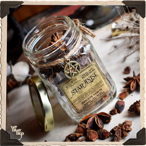 ANISE STAR APOTHECARY. Dried Herbs. For Clarity, Awakening & Clairvoyance.