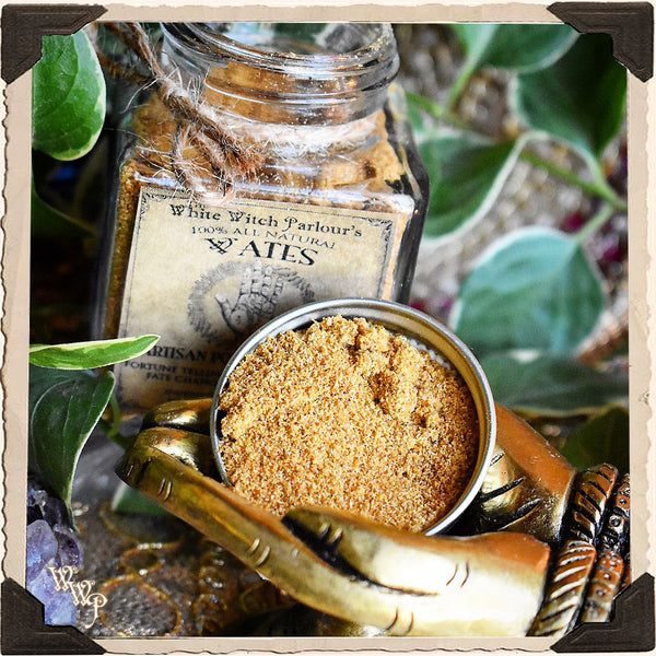 VATES POWDER INCENSE. All Natural.  For Fortune Telling, Destiny Changing & Happiness.
