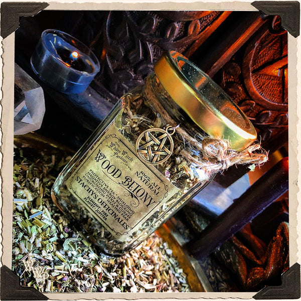 WOOD BETONY Dried Herbs. For Protection, Ghosts , Blocking Negative & Evil Energies