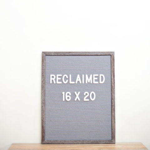 16 x 20 RECLAIMED WOOD FRAME