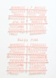 "BLUSH PINK 3/4"" HELVETICA LETTER SET - 290 CHARACTERS - RIVI co. letter boards"