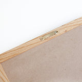 10 x 10 OAK FRAME, BLACK FELT LETTERBOARD - RIVI co. letter boards