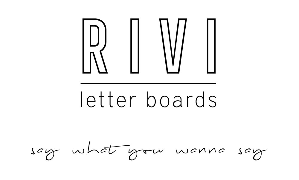 RIVI co. letter boards