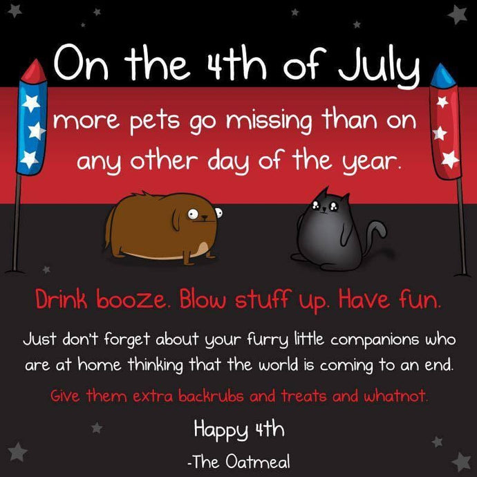 It's Not Just About Dogs...Fireworks and your Pets
