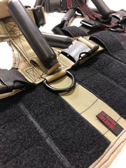 all of our dog vests and harnesses have heavy duty handles